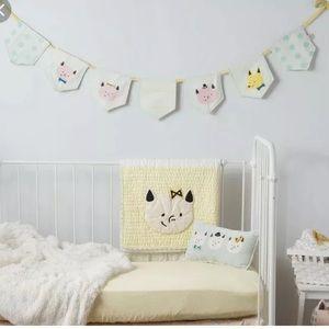 SALE‼️ Hallmark baby pig bunting nursery decor